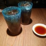 大澤麺工房 一葵 - ウーロン茶
