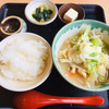Shokujidokorokodachi - 料理写真:だんご汁定食 1000円。