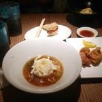 大澤麺工房 一葵 - チーズ仕上げの炙りご飯