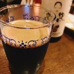 おまめ - 宮崎ひでじビール 栗黒 ¥1600