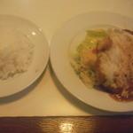 ソルタナ - ポークチーズ焼き+ライス(並)