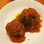 タキ ベイク - スペイン風肉団子、アロイトマトのソース