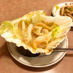 安記 - ツブ貝のニンニク炒め