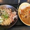 ゆで太郎 - 料理写真:薬味そば、ジャンボカツカレー