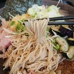 ゆで太郎 - 細い麺