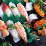 玄海鮨 - 松  竹  のパート