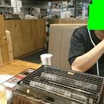 鳥金酒場 - テーブルコックピット&悪魔くん(笑)