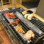 鳥金酒場 - 焼き焼き(*´-`)