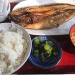ひもの食堂 - 料理写真:サバ定食(税込850円)(2019.04.現在)
