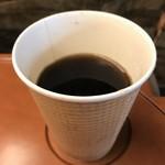 106195920 - ホットコーヒー 200円‥‥セットで50円引きでした
