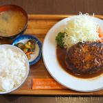 三福亭 - ハンバーグ