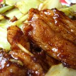 中華料理 翔竜亭 - 豚キヤ(豚とキャベツのホイコーロー)