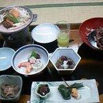おおくら - 料理写真:4千円の会席、鯉が有名です