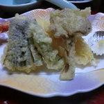 10620013 - 夕食の天ぷら