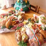 やまちゃんち - 料理写真:クリスマスオードブル