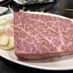 粉亭 - 黒毛和牛のステーキ