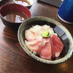 まぐろや 柳橋 - 三色丼