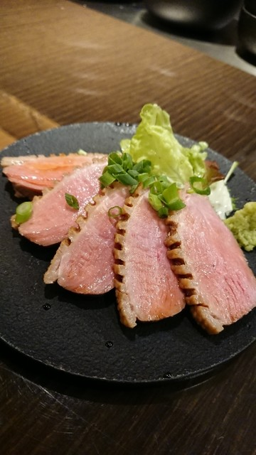 鉄のタナの料理の写真