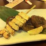 伊達な郷土料理と原始焼 牡鹿半島 - 原始焼き、椎茸。美味い