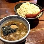 三田製麺所 - 背脂つけ麺大(860円)