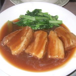 中国料理 なすの華 - 八角の効いた豚の角煮柔らかくご飯、チャーハンが合うお気に入りの一品。