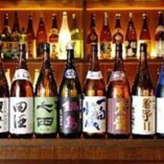 プレミアム日本酒から定番のサワーまで◎旨い魚のお供にぜひ♪