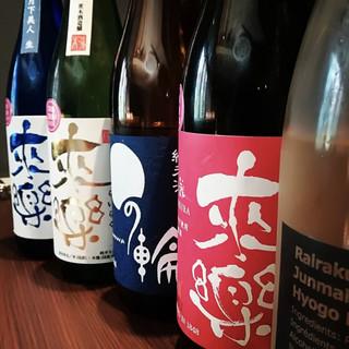【来楽×KNOT】日本酒とイタリアンのマリアージュ