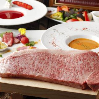 極上の神戸牛を味わえる贅沢なコース