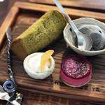 鐵屋+cafe - デザート3種盛り