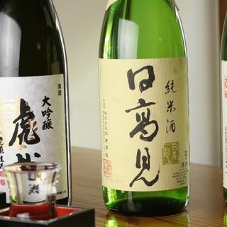 魚に合う焼酎・日本酒が充実◎東北の地酒は【もっきり】で楽しむ