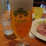 106219577 - 生ビールで乾杯~(ノ・∀・)ノ