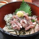 市場の食堂 金目亭 - 料理写真:朝定食 鯵たたき丼 600円。