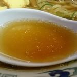 だるま軒 - さっぱりした旨味の醤油スープ