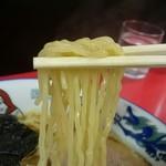 だるま軒 - プリプリ感は抑えめの麺