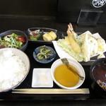 天ぷら食堂 - 天ぷら定食・空