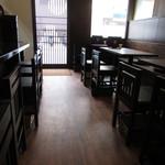 天ぷら食堂 - 内観