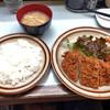 キッチン南海 - 料理写真:本日のサービス定食 ロースカツとカニクリームコロッケ 700円