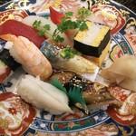 玄海鮨 - 梅にぎり 800円+ツプ貝  アナゴ