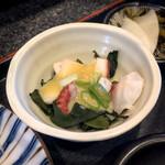 ようちゃん - タコの酢味噌