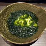 日本酒原価酒蔵 - 濃厚青海苔豆腐