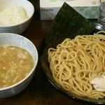 鶏々 - 料理写真:鶏つけ麺(塩)(中盛り)(830円)
