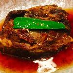 山風木 - 料理写真:限定10食 豪快‼️とろろがけ牛すじホロホロ煮  単品780円 定食 580円