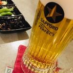 ぎゅう☆ぎゅう 日高 - ドリンク写真:サッポロビール公認パーフェクト樽生店です!