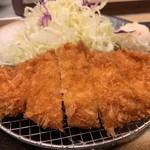 松乃家 - 徳朝ロースかつ定食 かつアップ