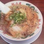 Ramenkairikiya - 特製醤油ラーメン(並)702円(税込)