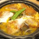 おひつごはん 海の穂まれ - 料理写真:ヒレカツとじ定食