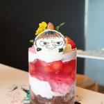Cafe THE SUN - ちびミイのパフェ