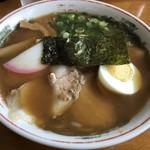 中華そば まる豊 - 2019年4月20日  チャーシュー麺 850円