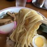 中華そば まる豊 - 2019年4月20日  麺