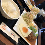 カフェ&キッチン タツミ - 料理写真:ハンバーグランチ